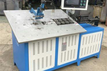 vroče prodajo avtomatski 3d jeklene žice, ki tvorijo stroj CNC, 2d žice krivljenje stroja cena