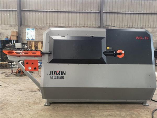 Prenosni stroj za upogibanje rezkarjev s CNC okroglo jekleno palico za rezanje in upogibanje